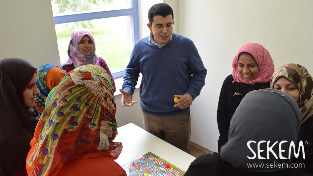 Das NatureTex-Team beim Uni-Workshop zum Thema Geschlechtergleichheit.