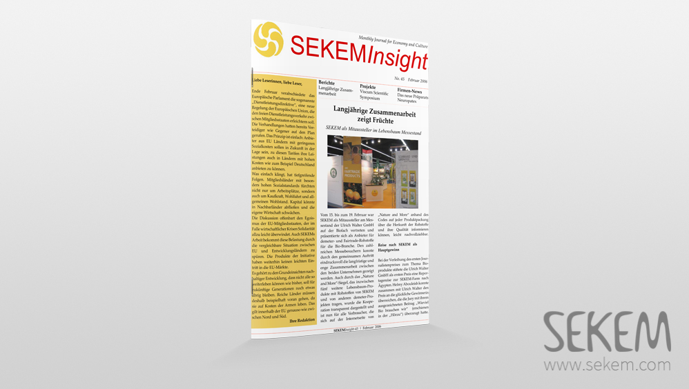 SEKEM Insight – 2006