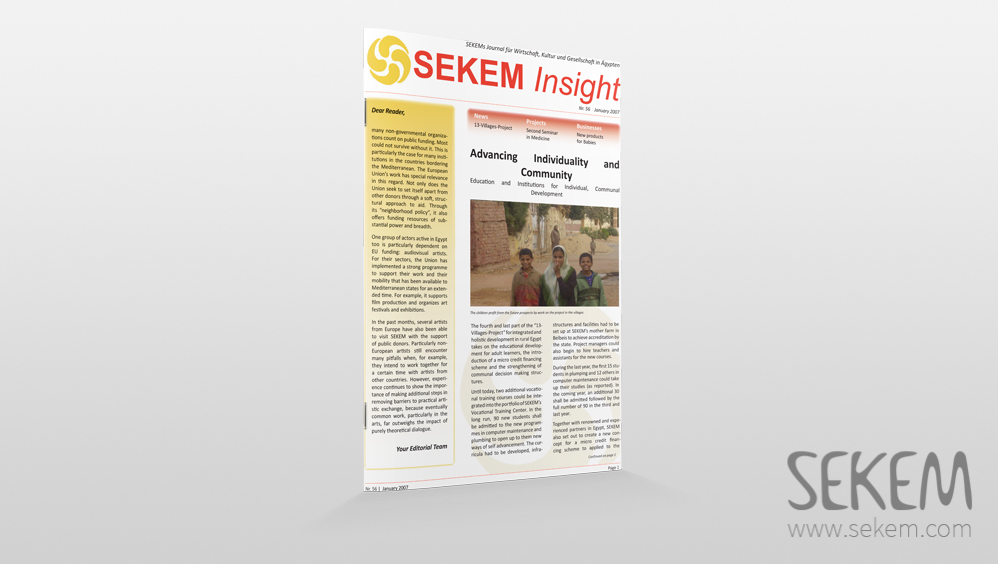 SEKEM Insight – 2007 – English