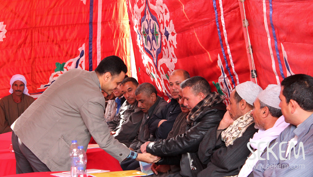SEKEM contracted framers during a workshop in Beheira.