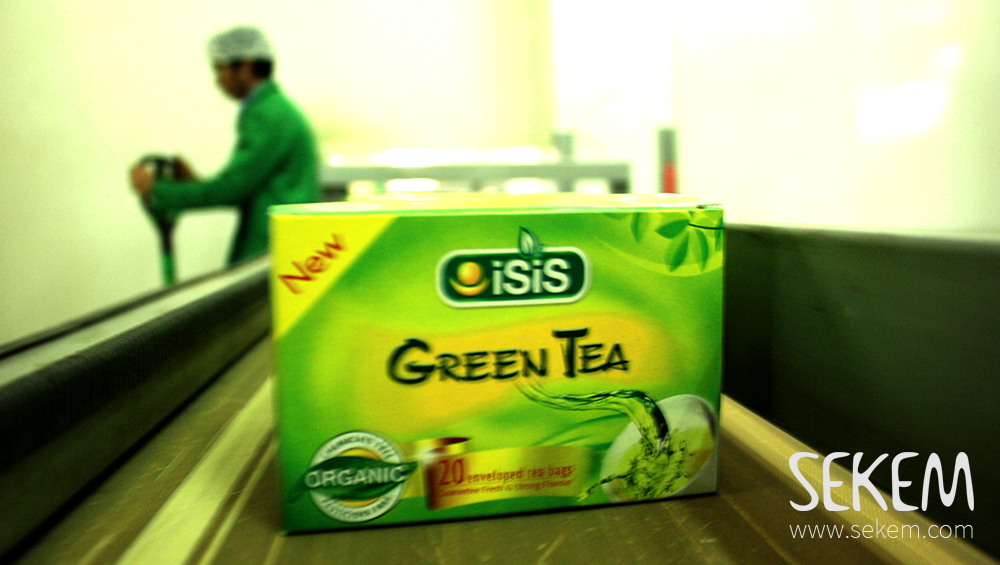 Teeproduktion in ISIS Organic