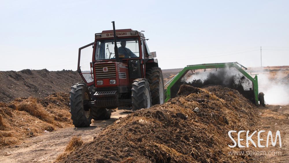 Compost in SEKEM