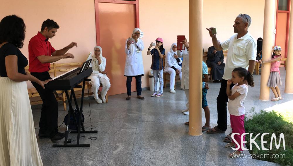 music-caravan-sekem-medical-center