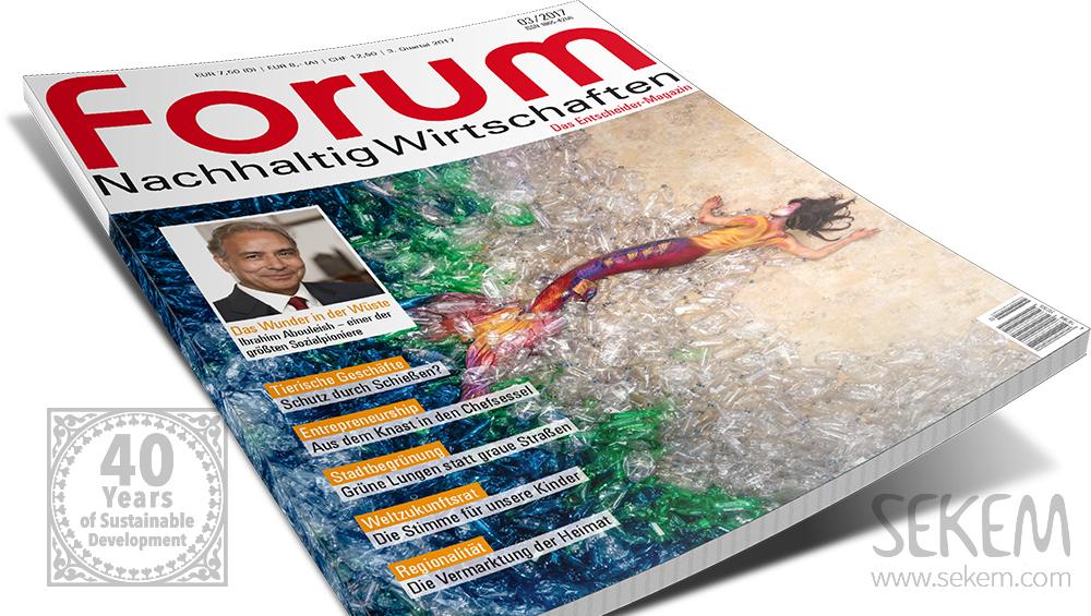 """Nachruf auf Dr. Ibrahim Abouleish im """"forum Nachhaltig Wirtschaften"""""""