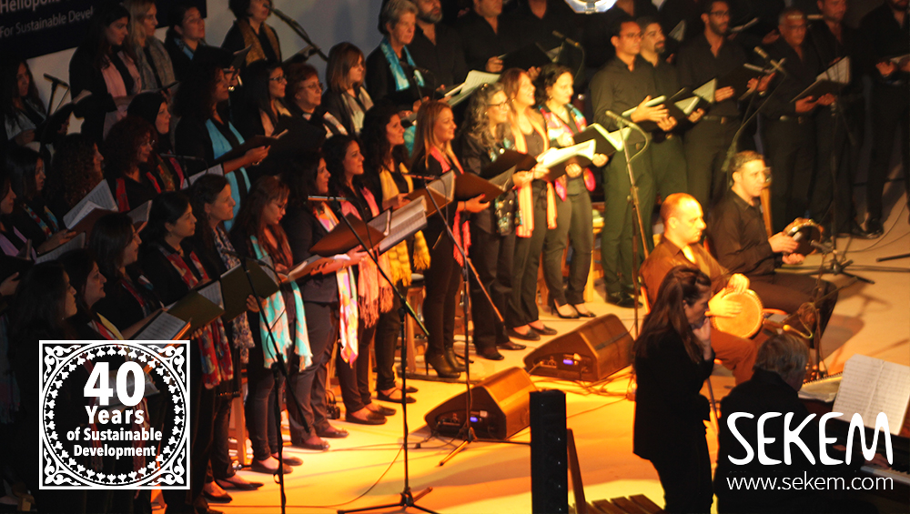 "Die Harmonie der Vielfalt: Cairo Celebration Choir im ""Space of Culture"""