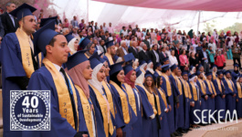 "First Graduation Ceremony of Heliopolis University at ""Space of Culture"""
