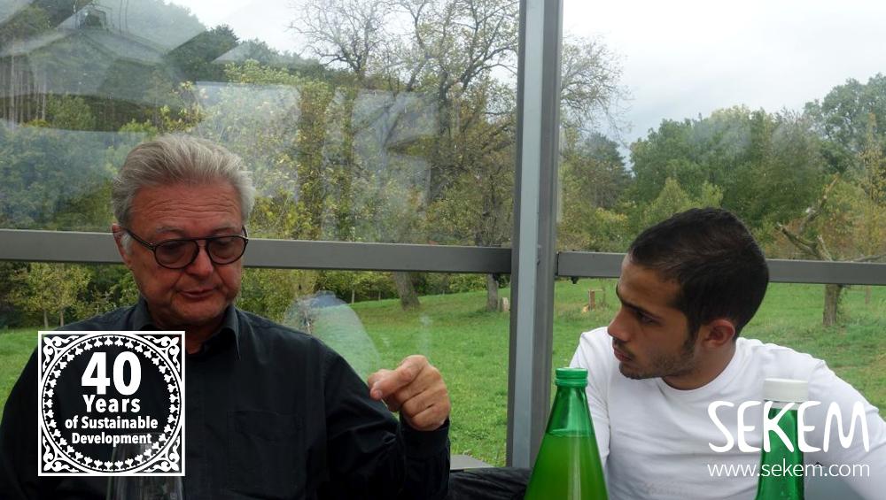Dr. Stefan Gergely im Gespräch mit Karim.