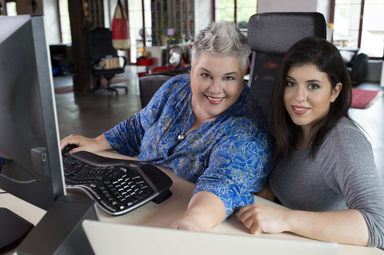 """Liana Zanin und Samantha Khairallah, die beiden Gründerinnen von """"la marui"""""""