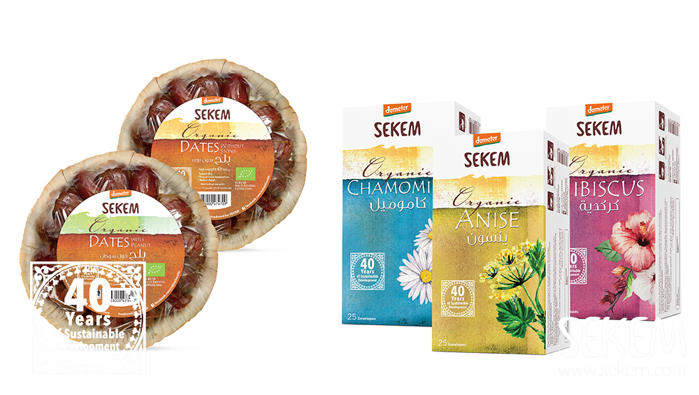 SEKEM Teas and Dates Demeter certified in the new SEKEM Shop