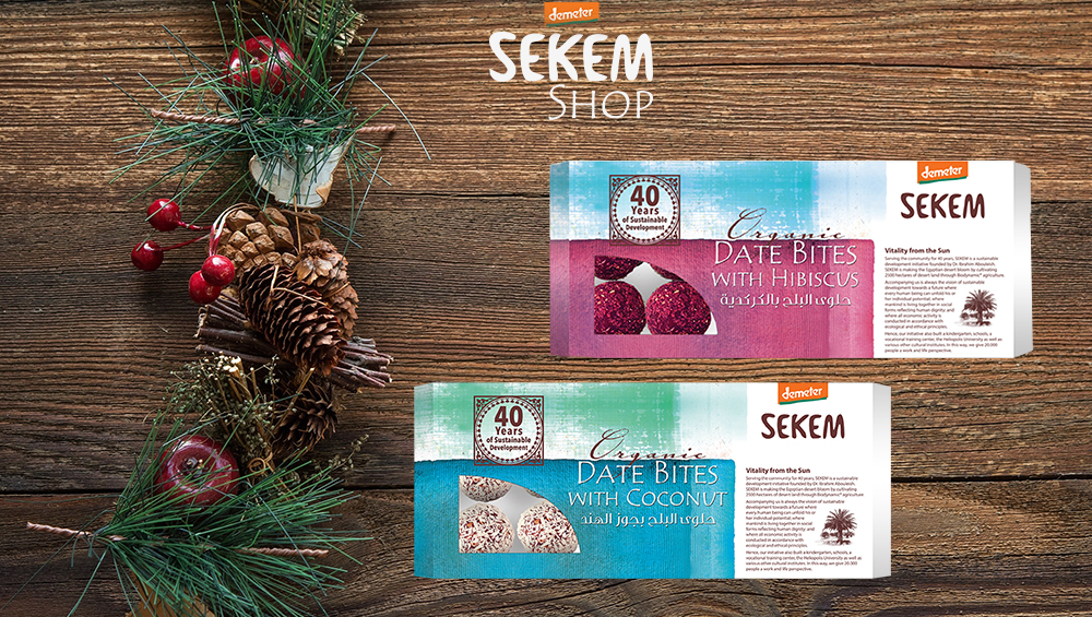 New Year with New Date Confectionary at SEKEM Shop