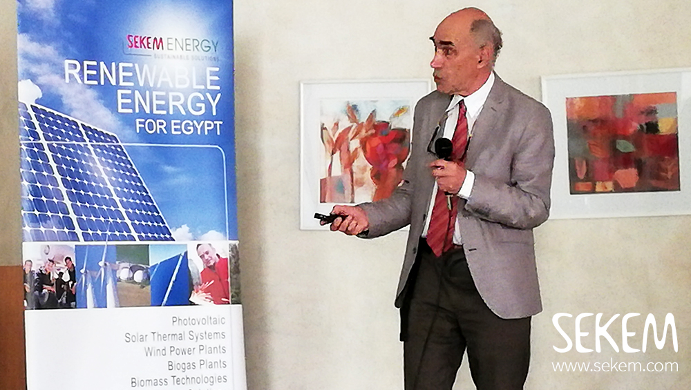 100% Solar Power for Egypt is Not Only a SEKEM Vision
