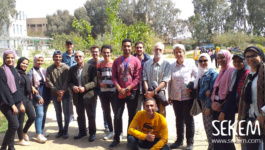 Training for Organic Agriculture Students at SEKEM Farm