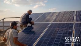 Greening the Desert Update: Solar energy in Use