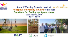 Invitation: Solutions for Scaling up Agroecology exist, report renowned global experts at Heliopolis University in Cairo