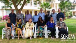 Forderung einer klimaresiliente Welt mit Wohlstand und Frieden für alle