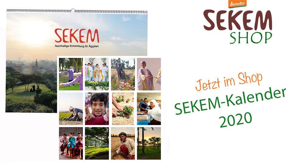 SEKEM Wall Calender for 2020 available!
