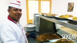 People in SEKEM: Chef Amir Abdel Aziz