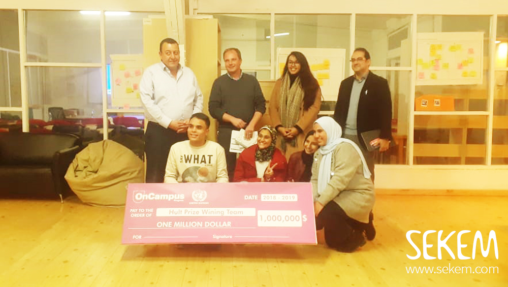 Heliopolis University Students Participate in an International Competition for $1Million Prize