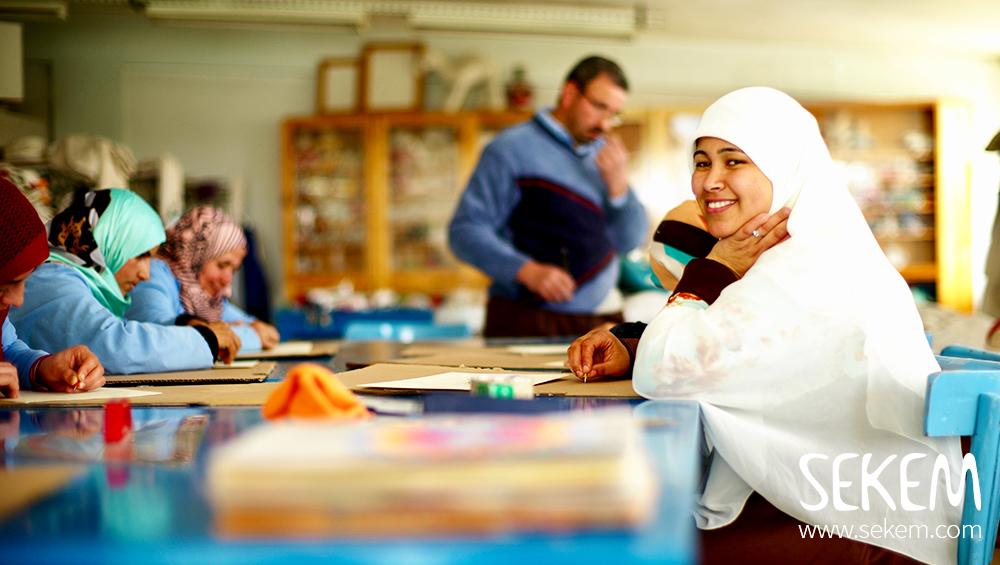 """Der """"SEKEM Bedaya – Marilou Fund"""" unterstützt Kleinunternehmer in den 13 Dörfern"""