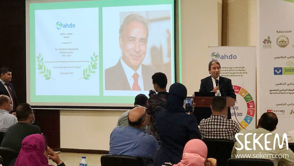 SEKEM Founder Honoured by Arab Cooperation for Health and Development